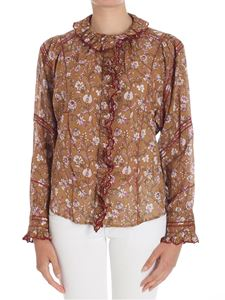 Isabel Marant Étoile - Brown shirt with floral print