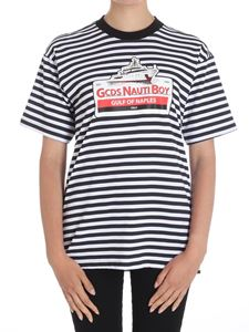 GCDS - Striped Nauti Boy T-shirt
