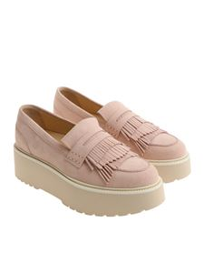 Hogan - Light pink H355 loafers