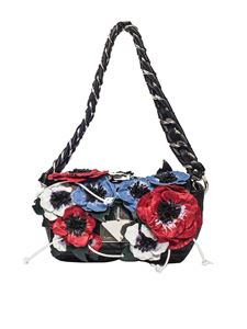 Sonia Rykiel - Black Le copain flower bag