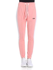 GCDS - Pink pants with veins