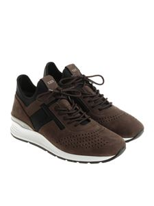 Tod's - Black and brown sneakers
