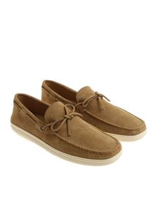 Tod's - Light brown moccasins