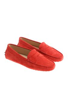 Tod's - Red moccasins