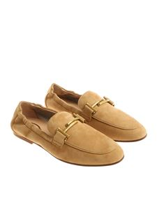 Tod's - Sand-colored moccasins
