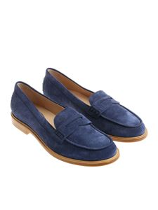 Tod's - Blue moccasins