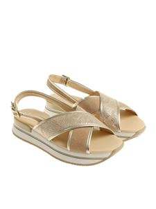 Hogan - Golden H257 sandals