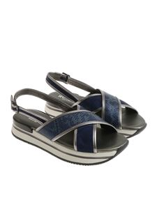 Hogan - Blue H257 sandals