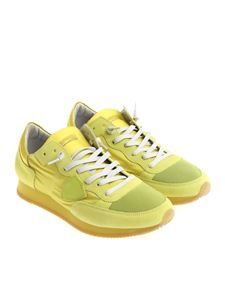 Philippe Model - Tropez L lime sneakers