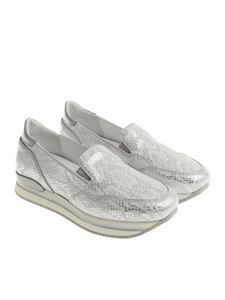 Hogan - Silver H222 slip on