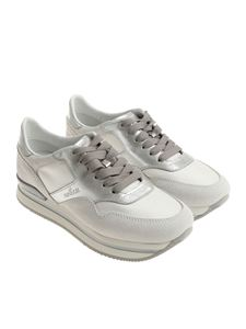 Hogan - White and silver H222 sneakers