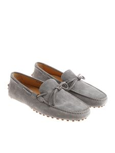 Il mocassino - Washed grey effect moccasins