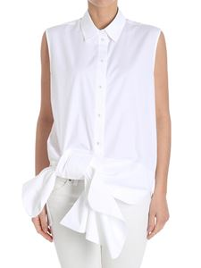 Victoria Victoria Beckham - White top with bow detail