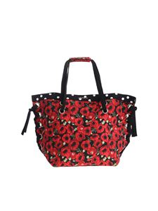 4giveness - Black Poppies Pois Bag
