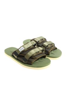 SUICOKE - Army green slides