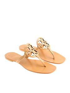 Tory Burch - Nude colored Miller thong sandals