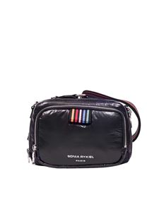 Sonia Rykiel - Black Forever Reporter shoulder bag