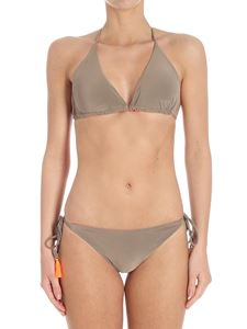 4giveness - Reversible mud and orange bikini