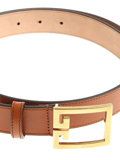 Givenchy - Brown double G belt