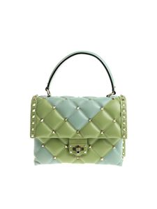 Valentino - Light blue and green Candystud bag