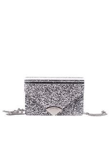 Michael Kors - Silver Barbara clutch bag