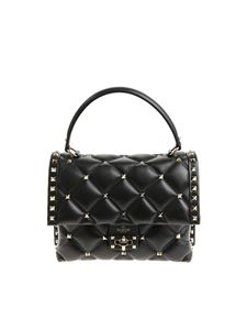Valentino - Black nappa leather Candystud bag