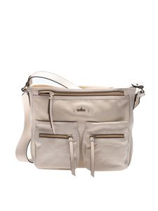 Hogan - Beige leather shoulder bag
