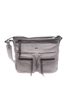 Hogan - Grey leather shoulder bag