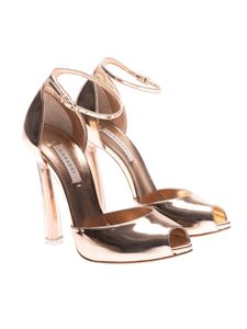 Casadei - Bronze open toe sandals