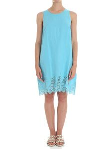 Ermanno Scervino - Light blue linen short dress