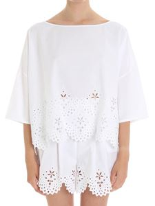 Ermanno Scervino - Poplin cotton Boxi blouse