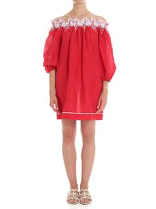 Ermanno Scervino - Red off-shoulder mini dress