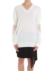 Givenchy - White over fit sweater