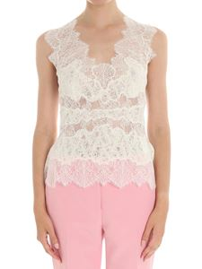 Ermanno Scervino - White lace top