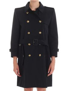 Givenchy - Dark blue trench coat