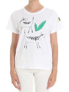 Parosh - White t-shirt Designed by Barbara Crimella