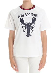 Parosh - White Amazing Addicted t-shirt