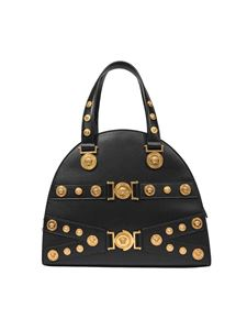 Versace - Black Tribute leather bag