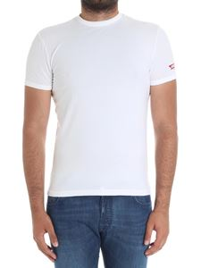 Dsquared2 - White stretch cotton t-shirt