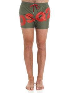Dsquared2 - Army green swimsuit