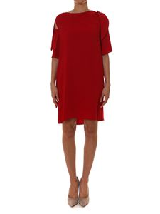 Parosh - Red dress with cut-out
