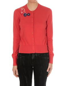 Fendi - Red cotton cardigan