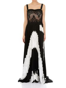 Givenchy - Black silk georgette long dress
