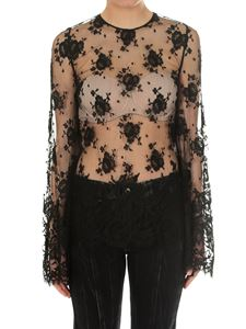 Givenchy - Transparent lace blouse