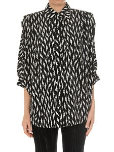 Givenchy - Black lightning print shirt