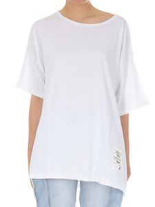 Gaelle Paris - White t-shirt with logo