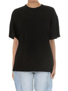 Gaelle Paris - Oversize black t-shirt