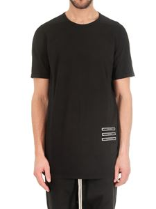 Rick Owens DRKSHDW  - Black t-shirt with patches