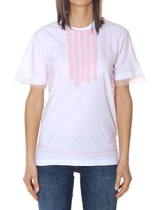 Dsquared2 - Cotton and organza T-shirt