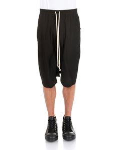 Rick Owens - Black low crotch bermuda